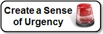 Create a Sense of Urgency